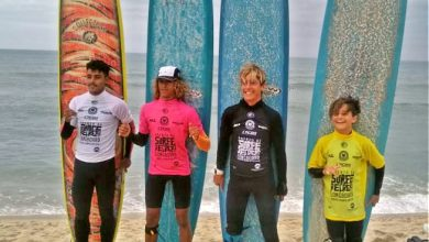 Photo of 2ª etapa do CBSurf Longboard Tour 2019 define alguns resultados.